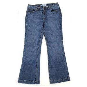 Flare Leg Blue Jeans Size 14